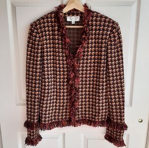 St. John Collection Santana Knit Blazer Size 12